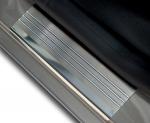 TOYOTA COROLLA X 4D SEDAN 2007-2013 Nakładki progowe - stal + poliuretan [ 4szt ]