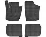 Dywaniki gumowe czarne SEAT Toledo od 2013 | SKODA Rapid od 2012
