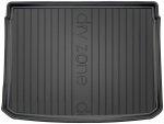 Mata bagażnika gumowa FIAT 500X 2014-2019 wersja z kołem zapasowym (pełnowymiarowe)