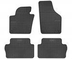 Dywaniki gumowe czarne SEAT Alhambra II od 2010 | VW Sharan II od 2010 wersja 5-osobowa