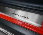 SEAT LEON III 5D HATCHBACK od 2013 Nakładki progowe STANDARD mat 4szt