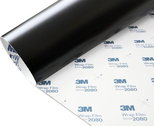 Folia Czarny Mat Satyna 3M S12 2080 152x150cm