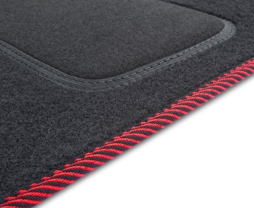 S1C00000 Dywaniki welurowe FORD Fiesta VI 2008-2012 owalne stopery