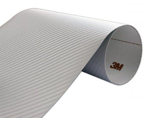 Folia Carbon Srebrny 3M CA418 60x50cm