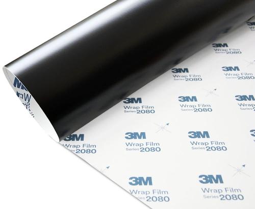 Folia Czarny Mat 3M M12 2080 152x100cm