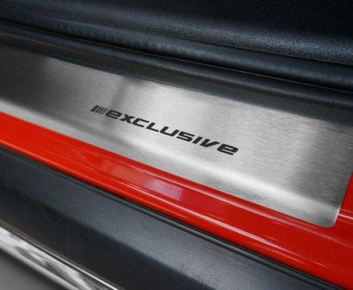 VW TOUAREG II od 2010 Nakładki progowe STANDARD mat 4szt