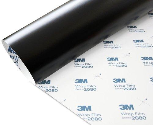 Folia Czarny Mat 3M M12 2080 152x250cm