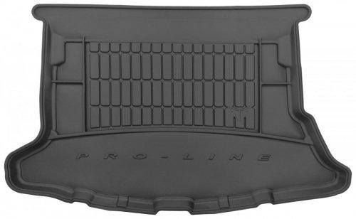 Mata bagażnika gumowa TOYOTA Auris II Hatchback 2012-2018 wersja z bocznymi wnękami, bez pakietu comfort