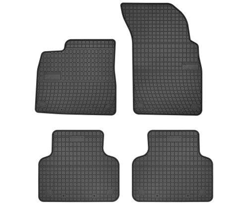 Dywaniki gumowe czarne AUDI Q7 od 2015