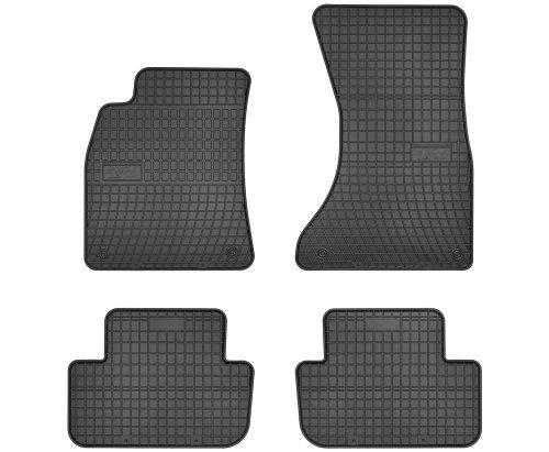 Dywaniki gumowe czarne AUDI A4 B8 2007-2015