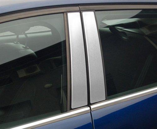 TOYOTA COROLLA XI od 2013 Nakładki na słupki drzwi (aluminium) [ 4szt ]
