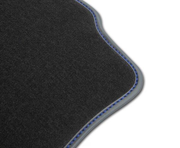 F2G00000 Dywaniki welurowe Premium SKODA OCTAVIA II 2004-2008 8 stoperów