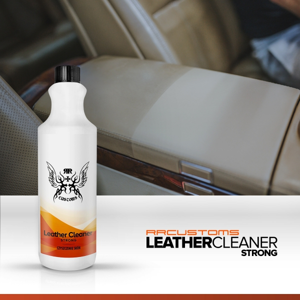 RRC LEATHER CLEANER STRONG 1L do czyszczenia skór