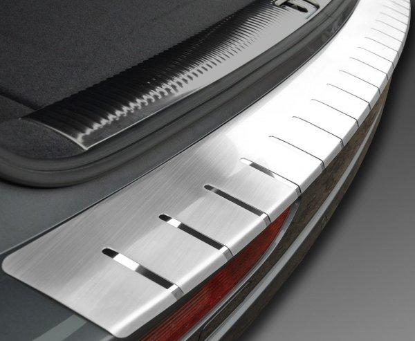 BMW X5 II (E70) 2006-2010 Nakładka na zderzak z zagięciem (stal)