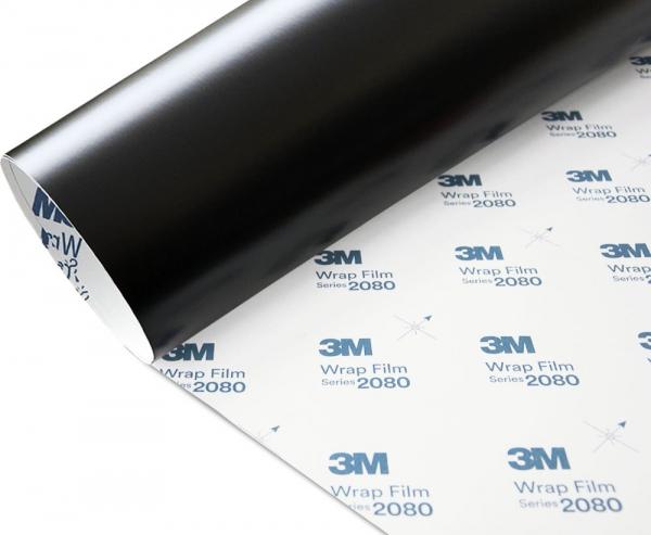 Folia Czarny Mat Satyna 3M S12 2080 152x130cm