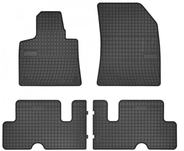 Dywaniki gumowe czarne CITROEN C4 Picasso II od 2013