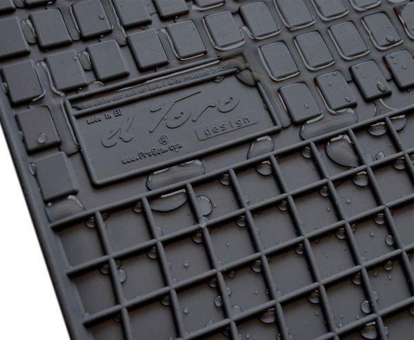 Dywaniki gumowe czarne AUDI A5 II od 2016