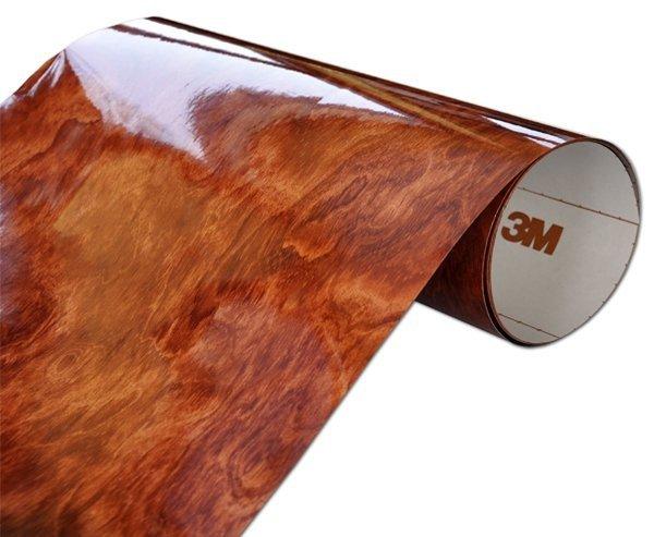 Folia Drewnopodobna 3M WG364GN 122x450cm