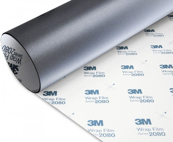 Folia Szary Mat Metallic 3M M261 2080 152x130cm