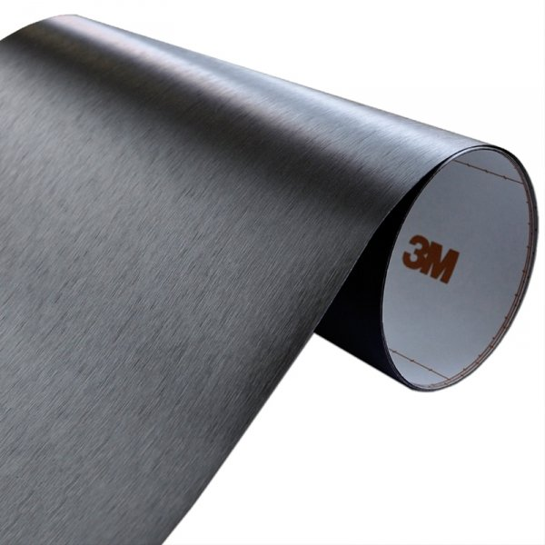 Folia Szczotkowane Aluminium Czarne 3M ME1175 122x50cm