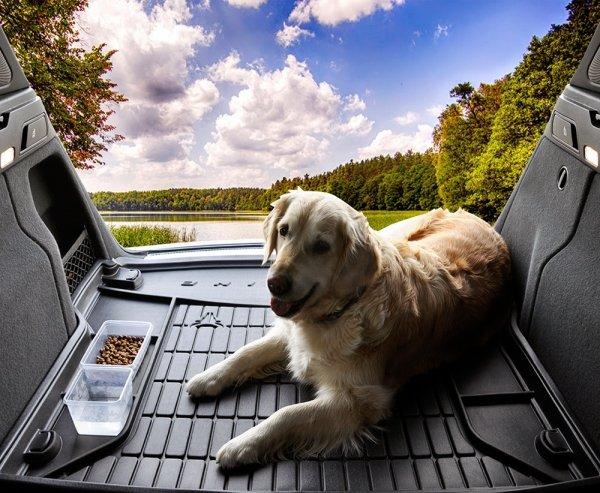 Mata bagażnika gumowa Range Rover IV od 2012 nie pasuje do wersji z tylnimi fotelami Executive Class