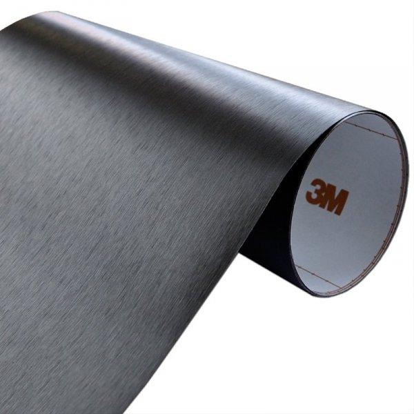 Folia Szczotkowane Aluminium Czarne 3M ME1175 122x450cm