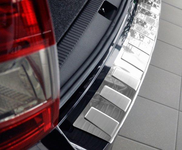 BMW 4 F36 Gran Coupe od 2014 Nakładka na zderzak TRAPEZ Satin