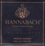 Hannabach 7287MT struny nylonowe basowe