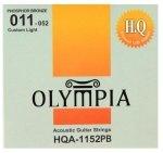 Olympia HQA-1152 struny akustyczne 11-52 phosphor