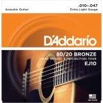 D'Addario EJ10 - 80/20 Bronze 10-47