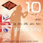 Rotosound Jumbo King (phosphor bronze roundwound) JK10