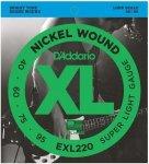 D'Addario EXL220 - XL Nickel 40-95