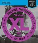 D'Addario EXL120-7 - XL Nickel Wound 7-String 9-54