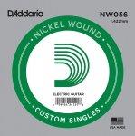 D'addario NW056 struna akustyczna elektryczna