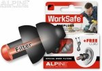 Alpine WorkSafe zatyczki do uszu stopery