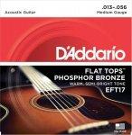 D'Addario EFT17 - Flat Tops 13-56