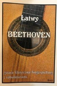 Contra Łatwy Beethoven gitara klasyczna fingerpicking