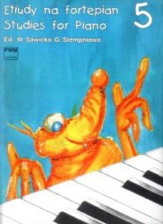 Etiudy na fortepian, z. 5      Wiera Sawicka     Gabriela (ed.) Stempień