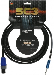 KLOTZ SC3 SC3-SP01SW kabel głośnikowy 1m