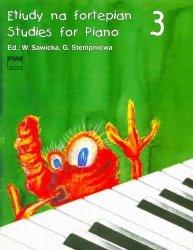 Etiudy na fortepian, z. 3      Wiera Sawicka     Gabriela (ed.) Stempień