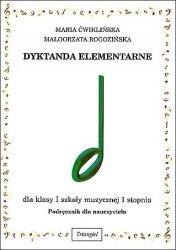Dyktanda elementarne I, podręcznik dla nauczyciela