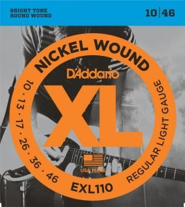 D'Addario EXL110 - XL Nickel Wound 10-46 BEST SELLER