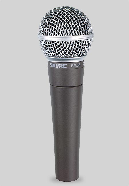 SHURE SM58-LCE