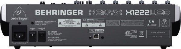 Behringer Mikser kompaktowy  XENYX X1222USB