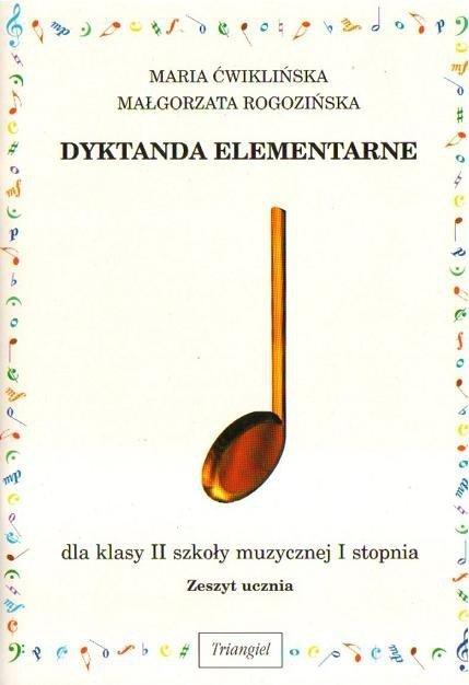 TRIANGIEL Dyktanda Elementarne klasa 2 1 stopnia
