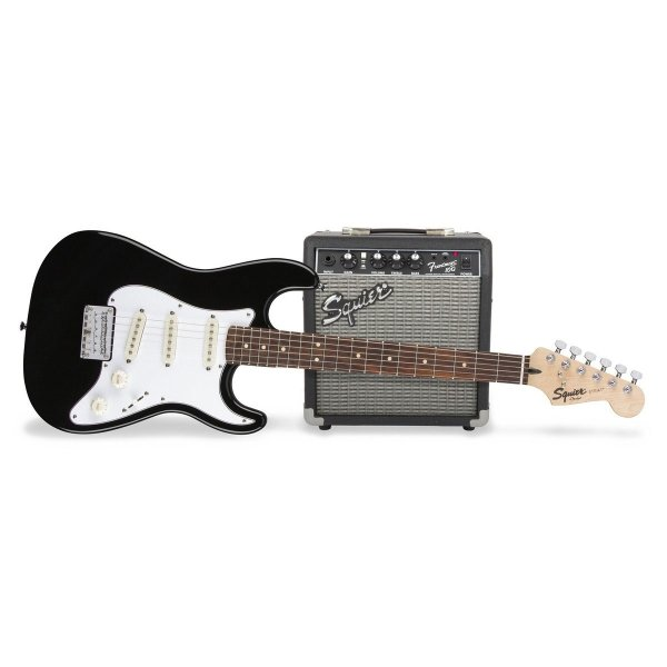 Squier Short Scale Stratocaster + Frontman 10G