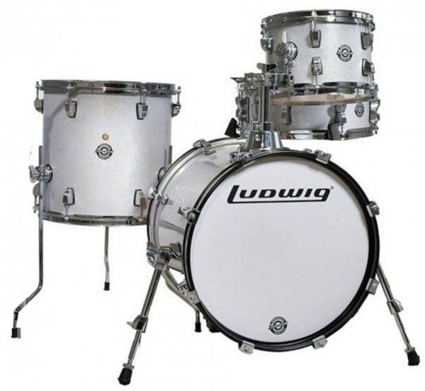 Ludwig Breakbeats Shell Pack LC179X028 White Sparkle
