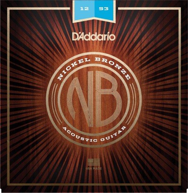 D'addario NB1253 struny akustyczne