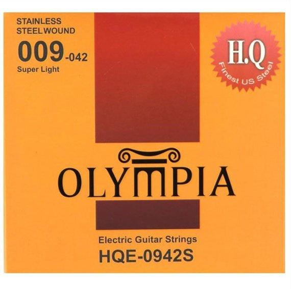 Olympia HQE-0942S struny elektryczne 9-42