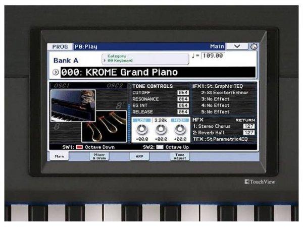 KORG  KROME 61 workstation